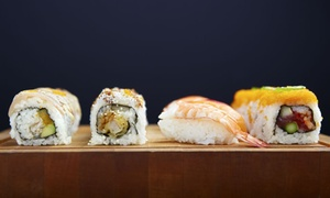 Joy Sushi - San Mateo: $20for $30Worth of Japanese Dinner Cuisine for Two or More at Joy Sushi in San Mateo