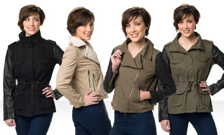 Ookie & LaLa Women's Jackets. Multiple Styles Available from $36.99–$74.99.