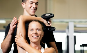 Baseline Performance: Three Personal-Training Sessions and a Dietary Consultation from Baseline Performance (65% Off)