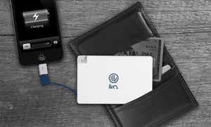 1800mah Credit Card Power-bank Charger For Smartphones