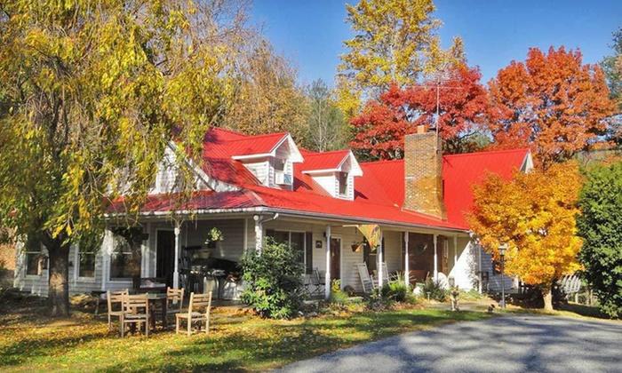 Blue Ridge Manor Bed & Breakfast - Cana, Virginia: Two-Night Stay for Two at Blue Ridge Manor Bed & Breakfast in Cana, VA