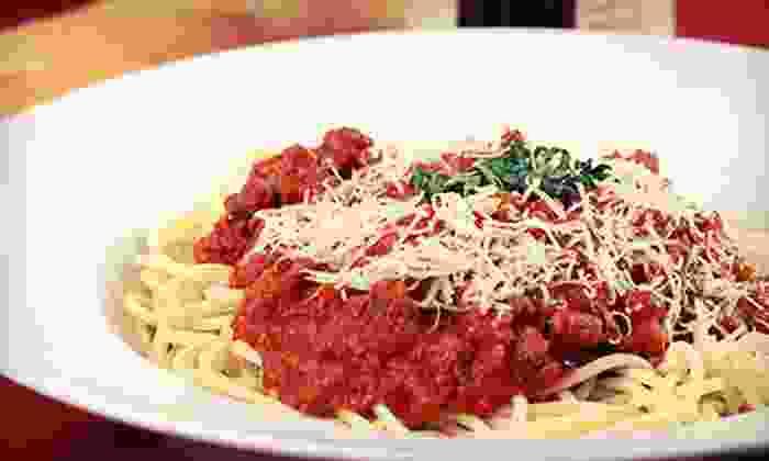 Cara Mia Trattoria Italiana - West Avenue: $35 for an Italian Dinner for Two with Wine at Cara Mia Trattoria Italiana (Up to $76 Value)