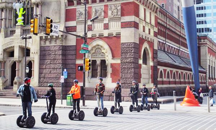 Philly By Segway - Philly Tour Hub: Segway Tour for Two or Four from Philly By Segway (Up to 50% Off)