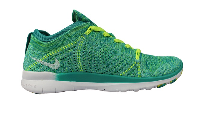 Nike Free 3.0 Flyknit Women's Running Shoes, Atomic Mango