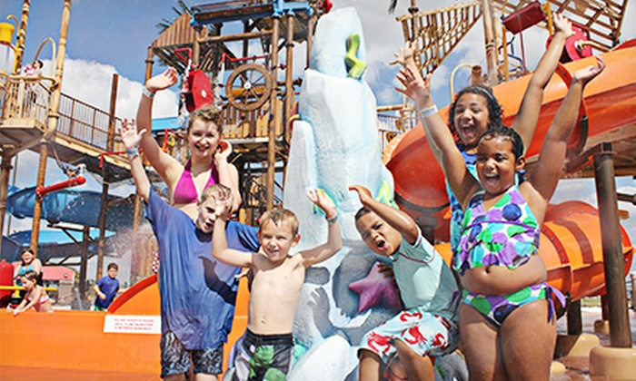 Andy Alligator's Water Park - Norman: Water-Park Outing for Two or Four at Andy Alligator's Water Park in Norman (Up to 53% Off)