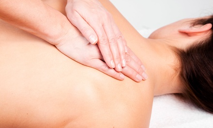 Massage and Optional Six-Month Wellness Membership at Healthy Touch Massage & Wellness Center (Up to 73% Off)