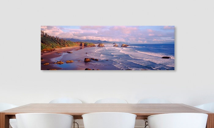 """16""""x48"""" Beach Photographs: $49.99 for a 16""""x48"""" Beach Photograph ($164.99 List Price). Free Shipping and Returns."""
