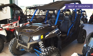 Adrenaline ATV Tours: Valley of Fire Polaris RZR ride along tour for One or Up to Three from Adrenaline ATV Tours (Up to 50% Off)