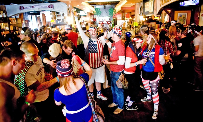 'Merica Pub Crawl - ViewHouse: General or VIP Admission to 'Merica Pub Crawl on Saturday, June 28