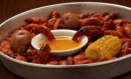 Cajun Dinner and Drinks for Two, Four, or Six at Jazz, a Louisiana Kitchen (46% Off)