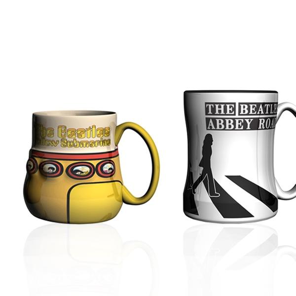 Set Of 2 Beatles Coffee Mugs Groupon