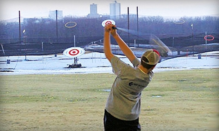 Golf Zone - Golf Zone: One Hour of Range Time and Two Beers, or Five or Eight Hours of Range Time at Golf Zone (Up to 58% Off)