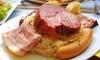Restaurant La Boucherie Colmar - Colmar: Choucroute garnie pour 2 personnes à 19,90 € au Restaurant La Boucherie Colmar