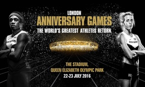 British Athletics: London Anniversary Games at Queen Elizabeth Olympic Park: Adult or Concession Tickets, 22 - 23 July (Up to 25% Off)