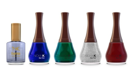 Nicka K New York Five-Piece Nail Polish Gift Set