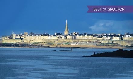 Saint Malo : 1 à 2 nuits avec petits déjeuners et dîner en 2 services en option, au Brit Hotel   Le Transat pour 2 pers.