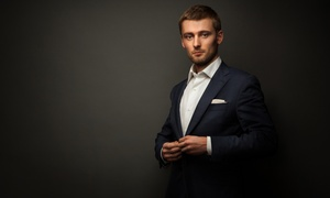 Cut Clothing: Custom Men's Shirts, Chinos, or Suits at Cut Clothing (Up to 41% Off). Four Options Available.