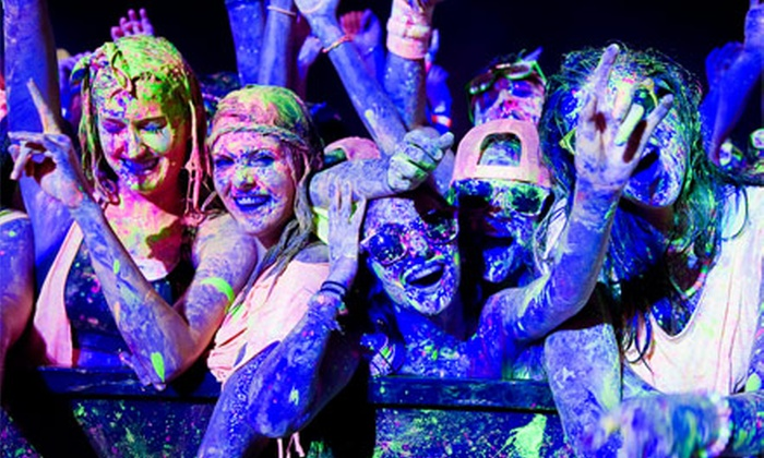The Graffiti Party - A Night Time Color Festival - Judson: $20 for The Graffiti Party – A Night Time Color Festival at Retama Park on Saturday, September 21 (Up to $40 Value)