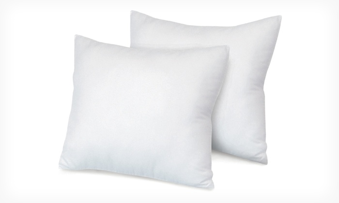 2-Pack of SensorLoft Euro Square Pillows: $34.99 for a Two-Pack of SensorPedic SensorLoft Overstuffed Euro Square Pillows ($99.99 List Price). Free Shipping.