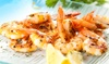 35th Street Grill - Orlando Beach: Bar Food for Two or Four, or Football Special of 50 Wings and Beer Pitcher at 35th Street Grill (Up to 42% Off)