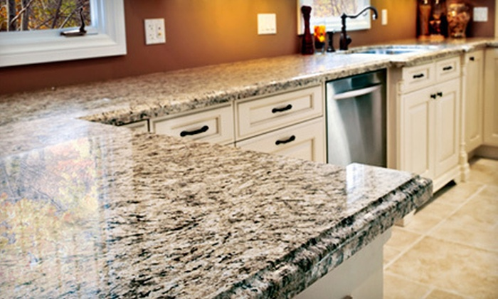 Superior Floor Care - Arvada: Cleaning and Sealing of 25 or 50 Square Feet of Granite Countertop from Superior Floor Care (Up to 60% Off)