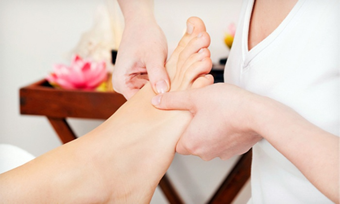 Meridians - North Weymouth: Reflexology Treatment or Therapeutic Massage, or Both with a 30-Minute Renaissance Facial at Meridians (Up to 53% Off)