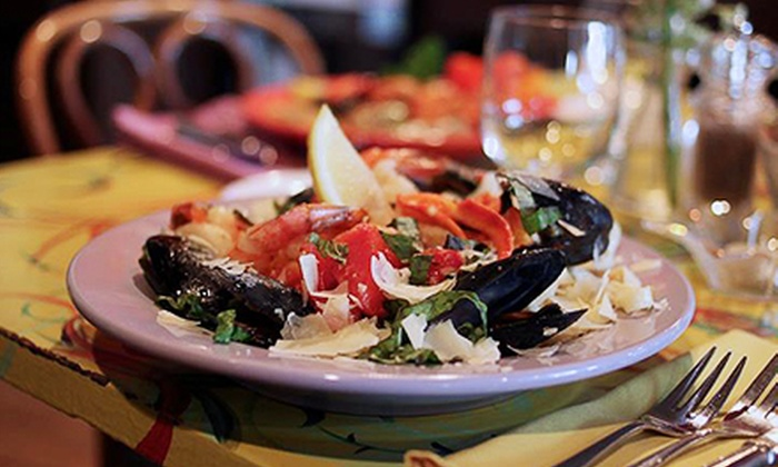 Slates Restaurant - Hallowell: $20 for $40 Worth of Seafood, Steak, and Sandwiches at Slates Restaurant