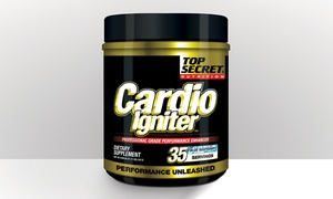 Top Secret 35-Serving Jar of Cardio Igniter Supplements