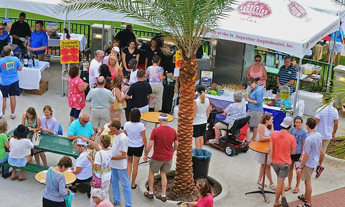 A Taste of St. Augustine - St. Augustine Ampitheatre: Admission for Two or Four to A Taste of St. Augustine on April 23 (Up to 50% Off)