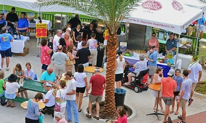 A Taste of St. Augustine: Admission for Two or Four to A Taste of St. Augustine on April 23 (Up to 50% Off)