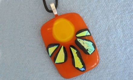 90-Minute Introduction to Fused Glass Jewelry Class for One, Two, or Four (Up to 51% Off)