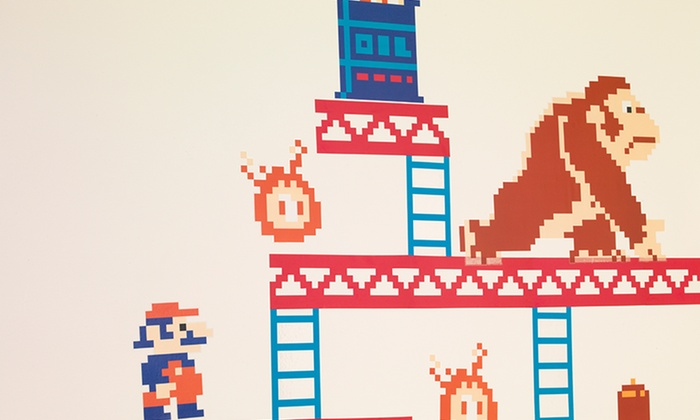 Donkey kong wall decals donkey kong wall stickers
