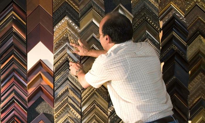 Art Devons - Art Devons: Custom Framing at Art Devons (Up to 77% Off). Two Options Available.
