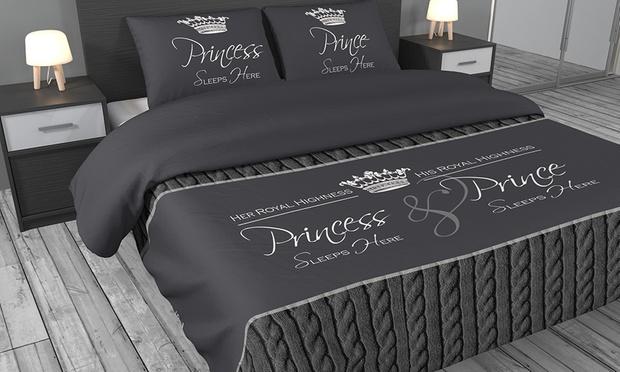 housse de couette satin groupon shopping. Black Bedroom Furniture Sets. Home Design Ideas