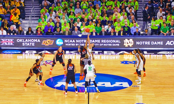 NCAA Women's Basketball Regional Finals - Sessions 1&2 - Greensboro Coliseum Complex: NCAA Division I Women's Basketball Championship at Greensboro Coliseum Complex on March 27 or 29 (Up to 40% Off)