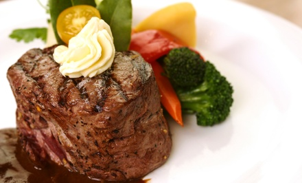 $20 for $35 Worth of Steak and Seafood at The Mango Tree Restaurant