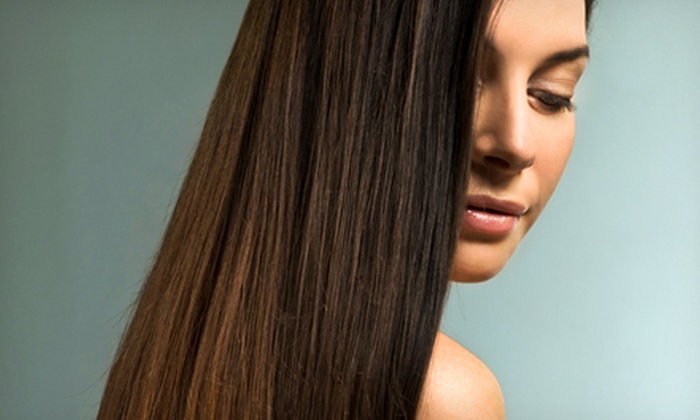 Xanadu Salon - Middletown: Haircut with Options for Single-Process Color, Partial Highlights, or Full Highlights at Xanadu Salon (Up to 73% Off)
