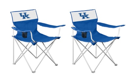 2-Pack of NCAA Collapsible Canvas Chairs. Multiple Teams Available.