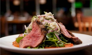 The Union Kitchen: Three-Course Contemporary American Dinner for Two or Four at The Union Kitchen (Up to 47% Off)
