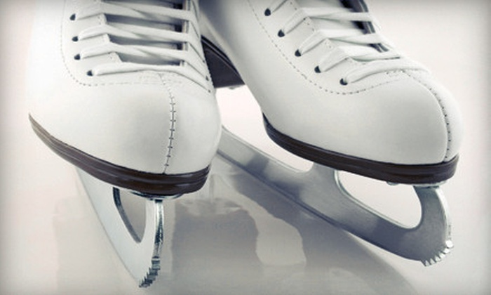 Iceland of Hampton Roads - Northwest Virginia Beach: Ice-Skating and Skate Rentals for Two, Four, or Six at Iceland of Hampton Roads (Up to 54% Off)