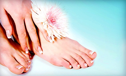 Spa Mani-Pedi with Optional Paraffin-Wax Treatment for Hands or Feet at Heaven's Garden Spa (Up to Half Off)