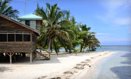 Groupon Deal: 3-, 4-, or 7-Night Stay for Two with Meals and Boat Transfer at Isla Marisol Resort in Belize