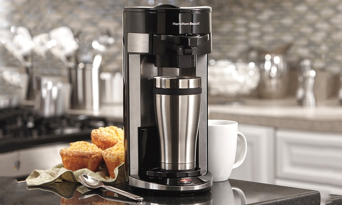 Hamilton Beach FlexBrew Single Serving Coffee Maker (Manufacturer Refurbished)