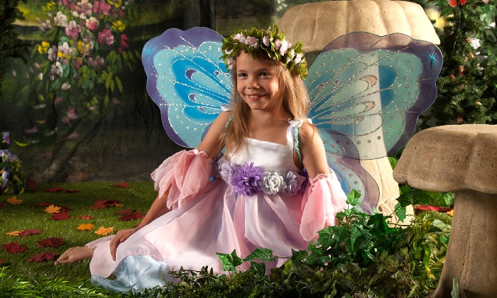 About the Shot Photography - Palmer Park: Fairy Princess Portrait Photoshoot for One or Two from About the Shot Photography (Up to 66% Off)