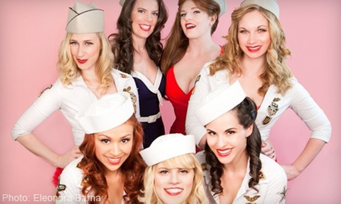 The Dollface Dames - Los Angeles: The Dollface Dames Burlesque Show with Party-Package Option (Up to 53% Off)