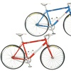 Tour de France Stage One Vintage Fixed-Gear Bicycles