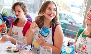 Bottle & Bottega - Minneapolis: One 2.5-Hour Ornament or Glass Painting Party for 1, 2, or 4 at Bottle & Bottega - Minneapolis (Up to 38% Off)