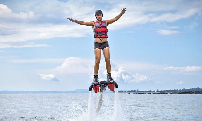 Al Mahara Diving Center - Abu Dhabi: 30-Minute Flyboarding Session for Up to Four with Al Mahara Diving Center