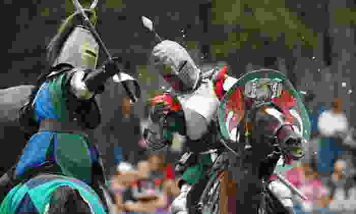 King Richard's Faire - Carver: Renaissance-Festival Outing for Four or Two at King Richard's Faire (Up to 47% Off)