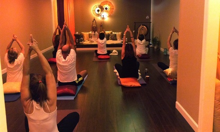 5 or 10 Yoga Classes, or One Month of Unlimited Classes at Golden Path Yoga (Up to 66% Off)